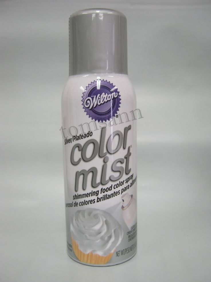 Wilton Silver Cake Decorating Mist