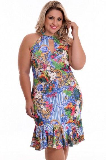 Vestido Plus Size Mariah