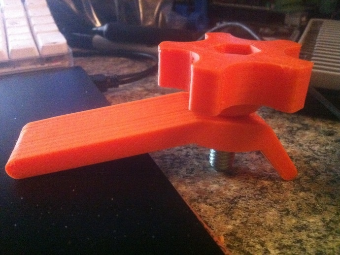 3d Printed Hold Down Clamp How Awesome Is This Break A