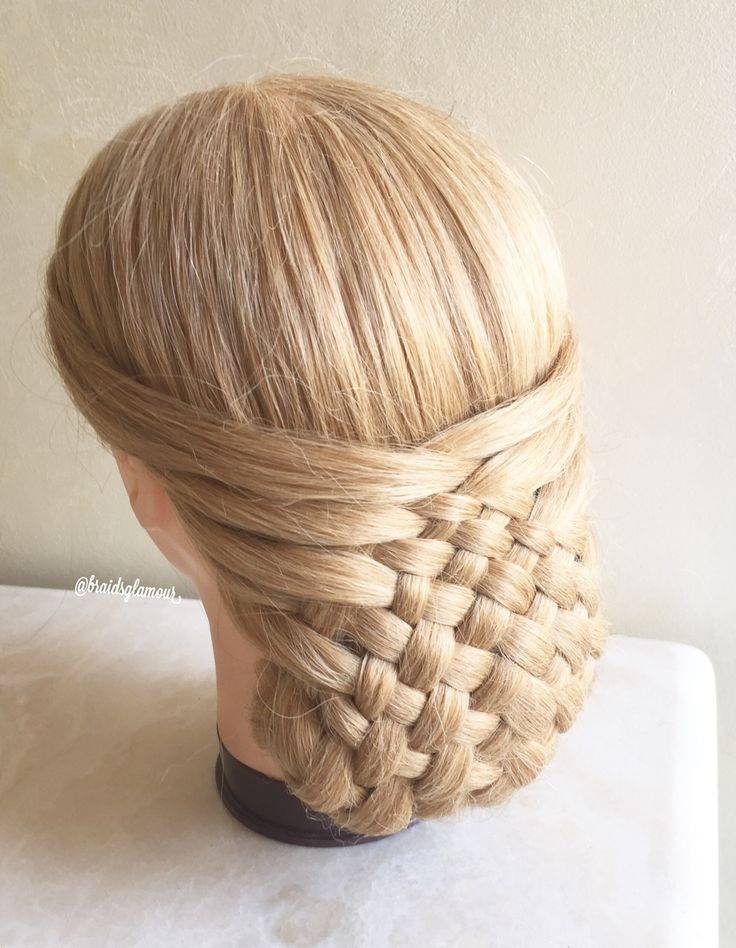 2027 best hairstyles i love updos images on pinterest braids woven updo pmusecretfo Choice Image