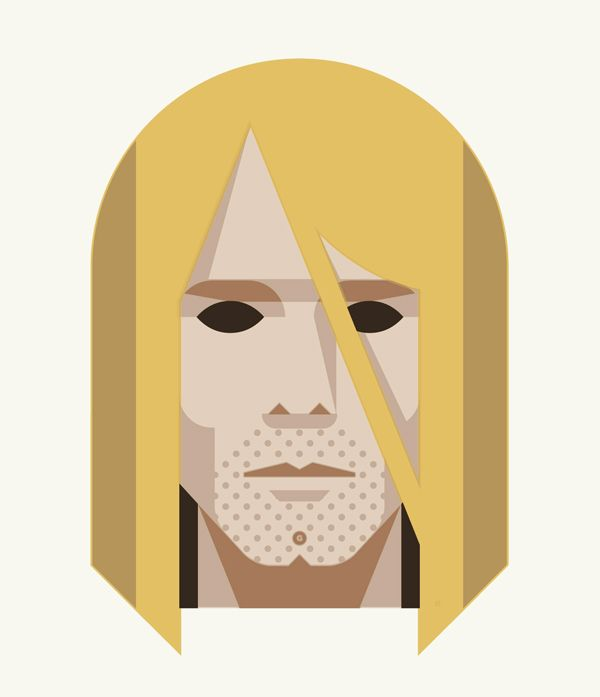 27 Club (Kurt Cobain) print by DKNG