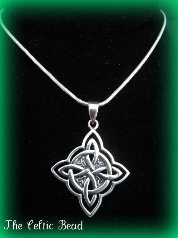 Beautiful Large Sterling Silver Celtic Irish Knot by TheCelticBead, $28.00