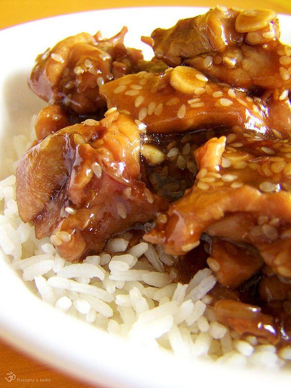 Kuracie maso v sezame / Chicken pieces with sesame seeds