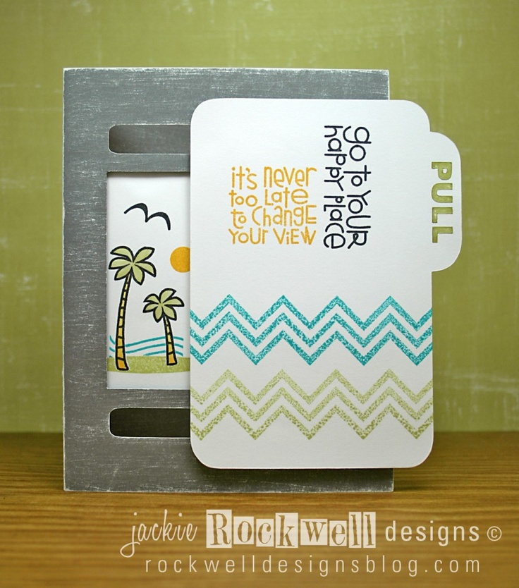 interactive card: