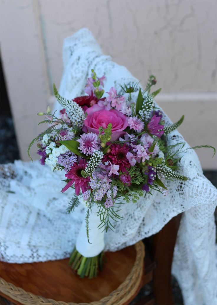 White Wedding Flowers July : Best images about july bridal bouquets on