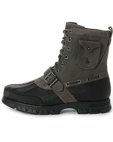 polo boots with air pocket in heel