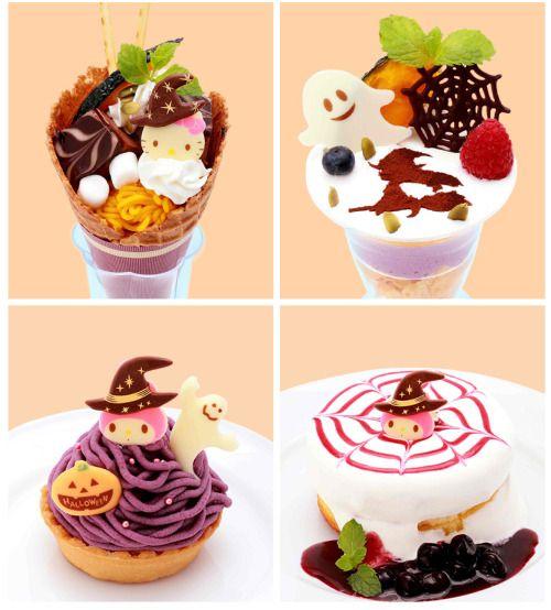food japan Halloween dessert hello kitty sanrio cheesecake japanese dessert food photography halloween sweets