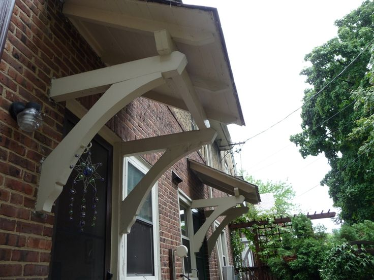8 Best Images About Porch Overhang On Pinterest: Porch Roof Brackets - Google Search
