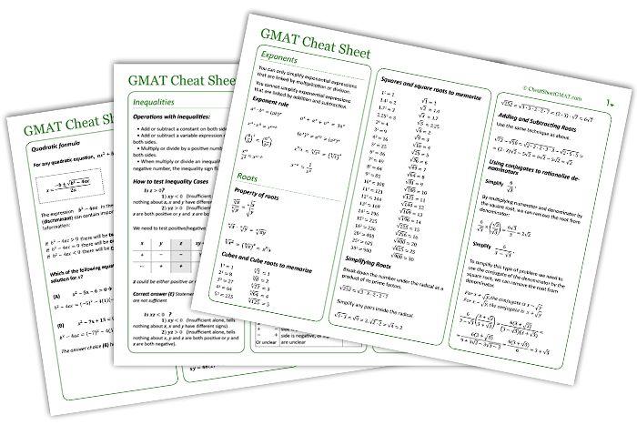 GMAT Math Tutorial - Study Guide - YouTube