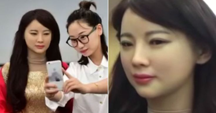 China has unveiled its first interactive robot girlfriend, who can speak and 'position herself'