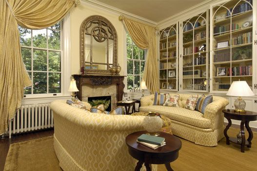 American Foursquare Interiors Bay And Gable House Living Room Pinterest Bays Interiors