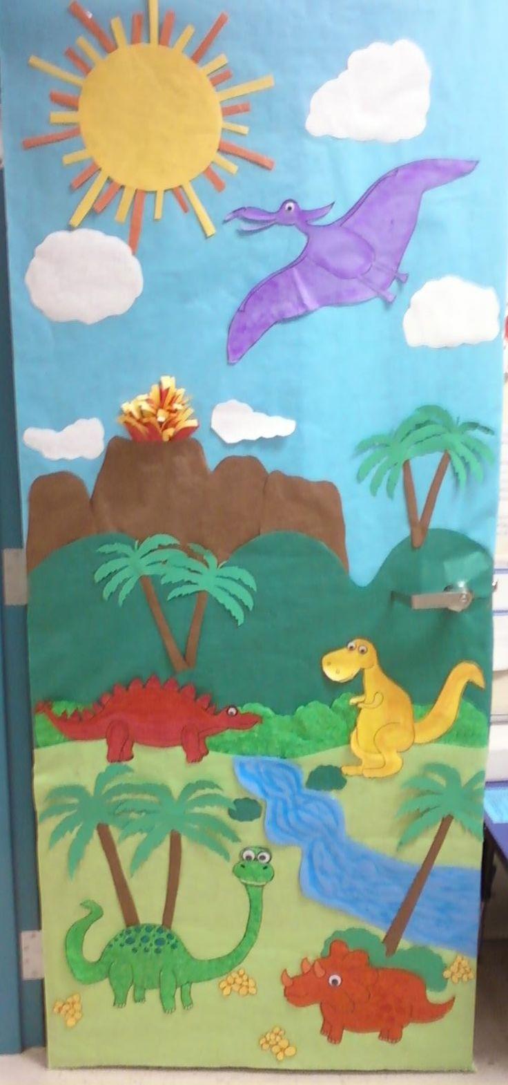 Dinosaur Classroom Door                                                                                                                                                                                 Más