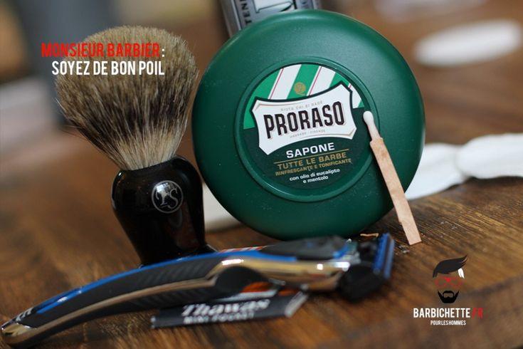 Monsieur Barbier : lames de rasoir par abonnement