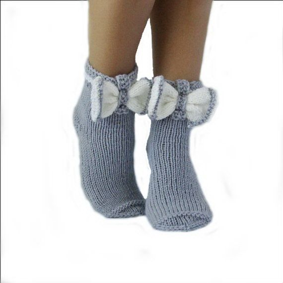 Socks butterfly. Gray socks. Woman socks. Knit socks. Hand knit socks. Birthday! Valentine's day! Gift Ideas.