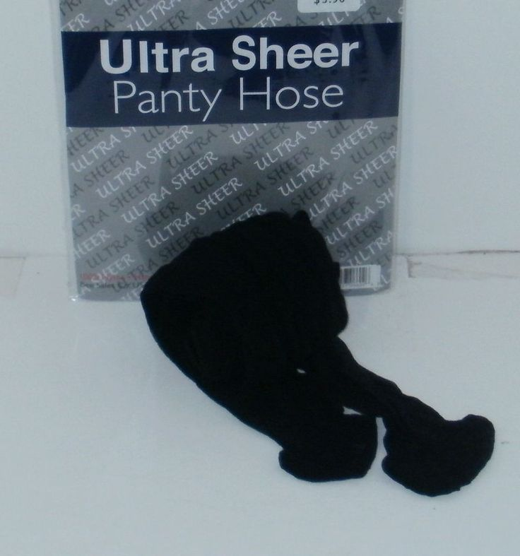 Black Pantyhose Regular Size Ultra Sheer Womens Ladies Stockings New #Unbranded #Pantyhose