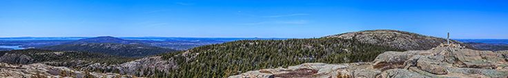 Maine's Acadia National Park seems like the perfect blend of ocean and mountains, plus the opportunity be the first in the US to see the sunrise, seen from Mt Cadillac. Whale watching, kayaking, hiking, and biking, too!