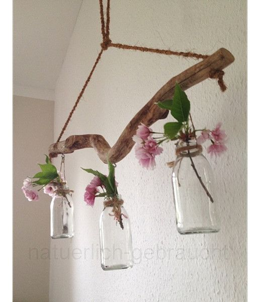 Deko-Objekte - Treibholz Hängevase - ein Designerstück von natuerlich-gebraucht bei DaWanda