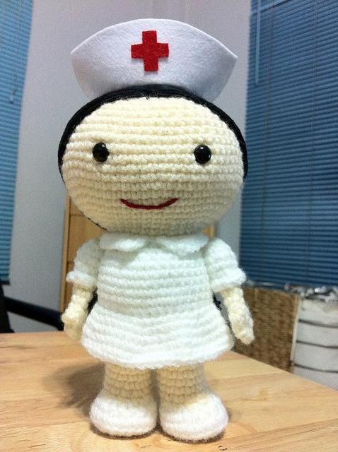 Nurse Rae Rae by Rosanna (Bogee), via Flickr
