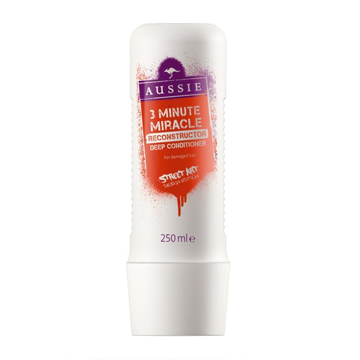 Pin for Later: Your Preholiday Beauty Regime, Sorted Aussie Reconstructor 3 Minute Miracle Deep Conditioner Aussie Reconstructor 3 Minute Miracle Deep Conditioner (£5)