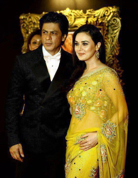 Shahrukh and Priety Zinta.