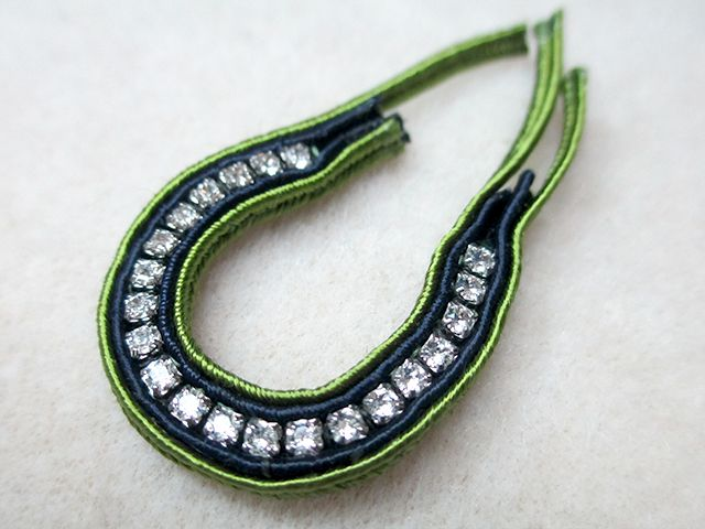 Soutache with Cup Chain Step 19