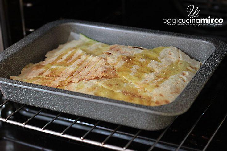 teglia guardini con parmigiana di zucchine e pane carasau @guardiniteglie
