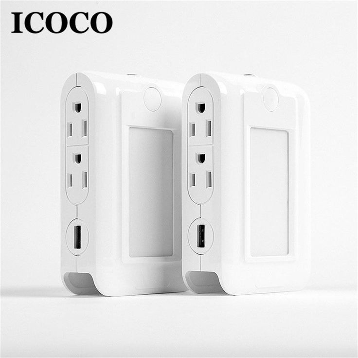 usb charger port wall socket smart led multi function on usb wall charger id=48255