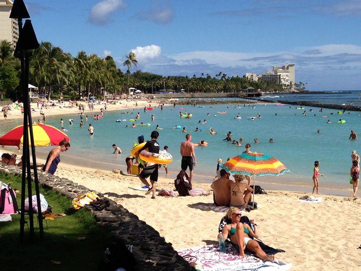 Waikiki Beach, Honolulu Hawaii