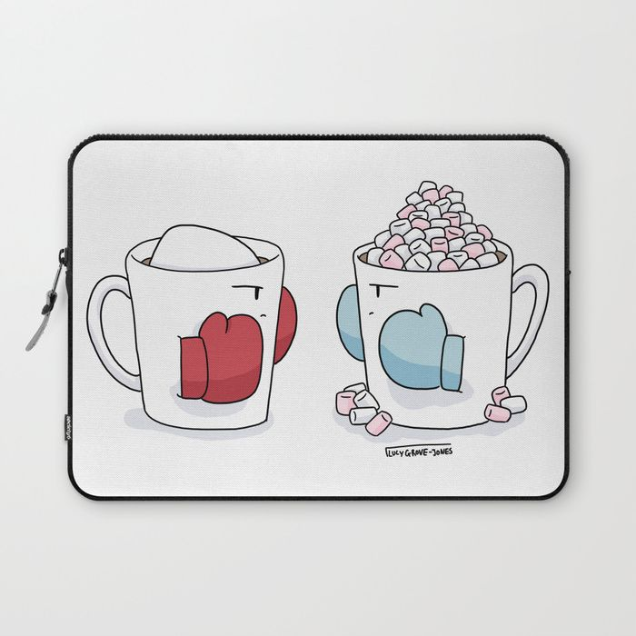 Buy Fighting Mugs Laptop Sleeve by lucygrovejones. Worldwide shipping available at Society6.com. Just one of millions of high quality products available.