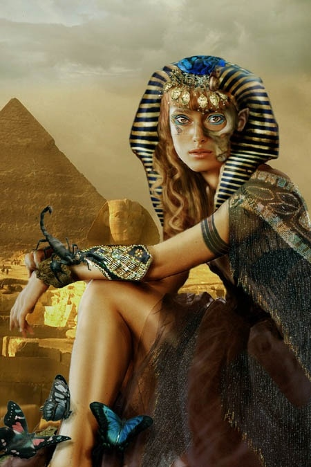 Queen Isis- beloved mistress of all elements - Goddess of love, devotion and loyalty...