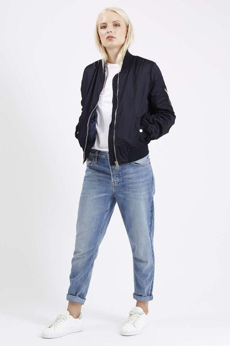 MA1 Bomber Jacket - Sportswear - Clothing - Best 25+ Navy Blue Bomber Jacket Ideas On Pinterest Bomber