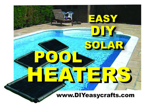 How to make this easy DIY Solar Pool Heater. Simple design that works great. Warm your pool without any additional heating expense.