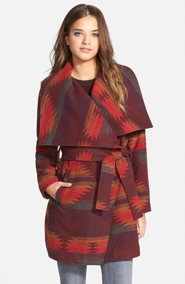 Steve+Madden+Blanket+Wrap+Coat+available+at+#Nordstrom