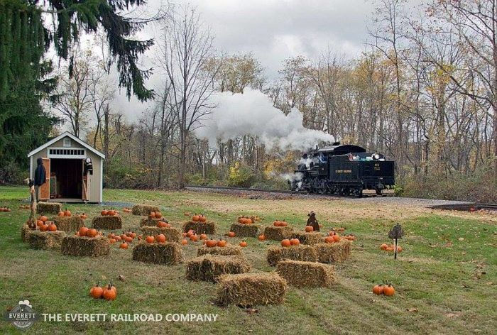 The Pumpkin Patch Train Ride Near Pittsburgh That Will