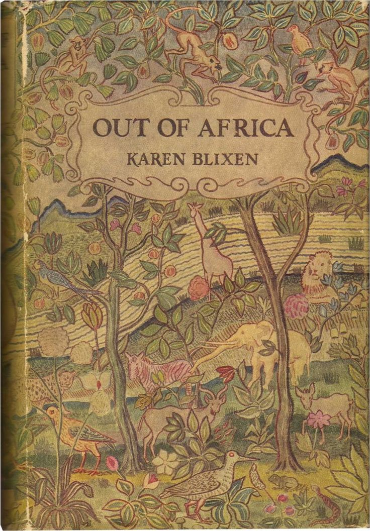 """livre """"Out of africa"""" de Karen Blixen"""