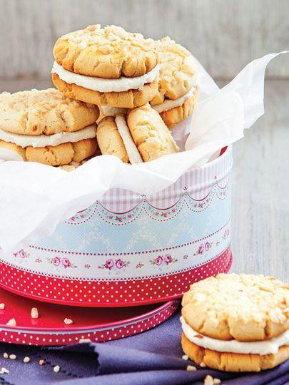 Ballı sandviç bisküvi Tarifi - Hamur İşleri Yemekleri - Yemek Tarifleri