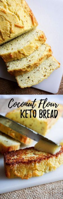 Make our Rosemary and Garlic Coconut Flour Bread for your next family dinner as a low carb replacement to dinner rolls!