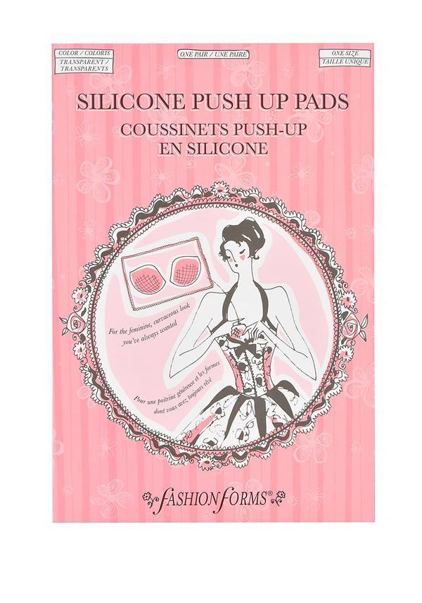 Fashion Form Hotsie Totsies Silcome Push Up Pads - Lingerie - www.mcelhinneys.com