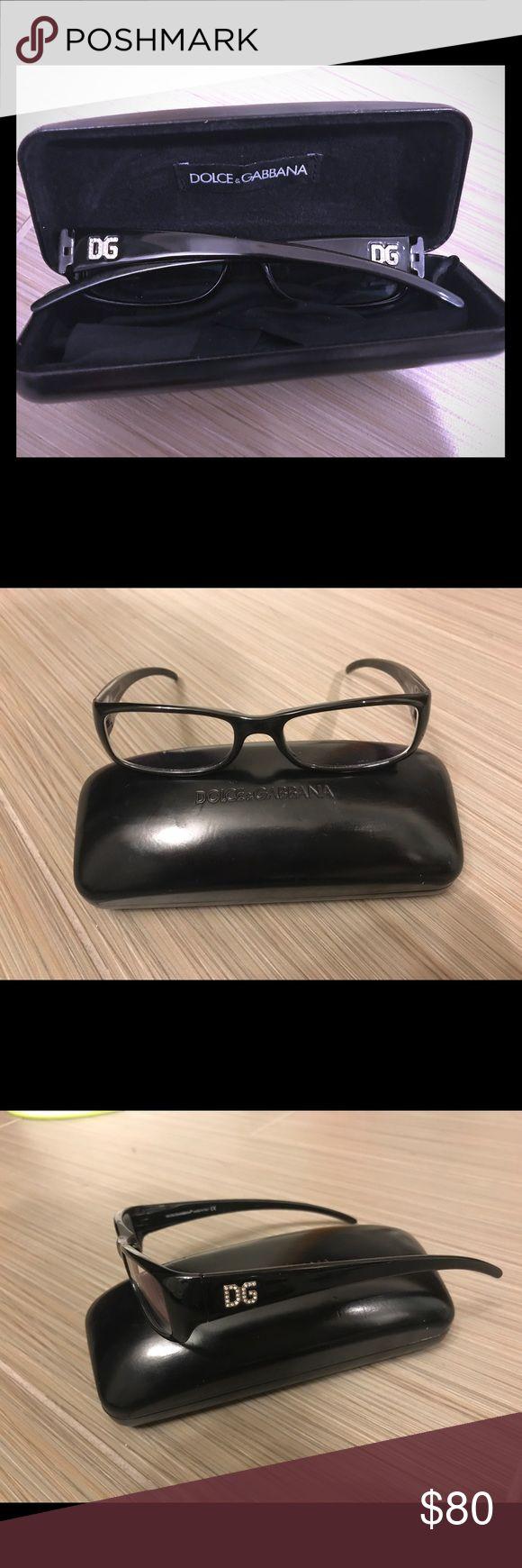 Dolce & Gabbana Black Eyeglass Frame and Case Shiny black Dolce and Gabbana eyeg… – My Posh Picks