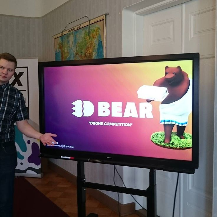 3DBear drone competition for all the bears
