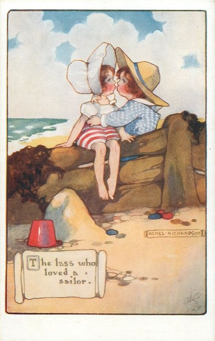 THE LASS WHO LOVED A SAILOR