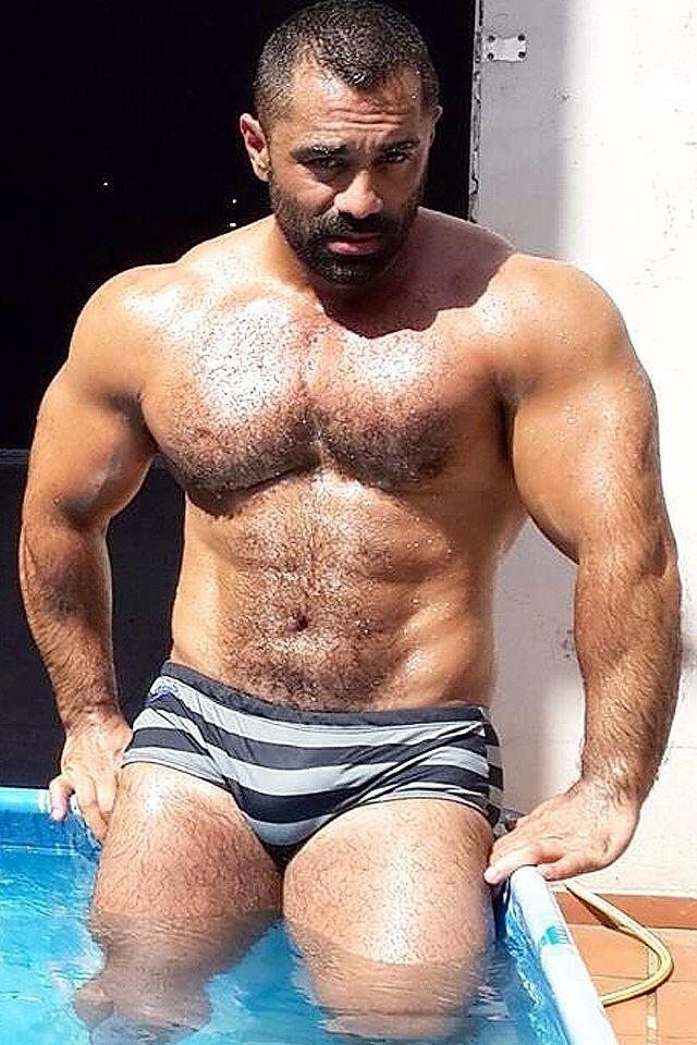 muscular hung gay men photos