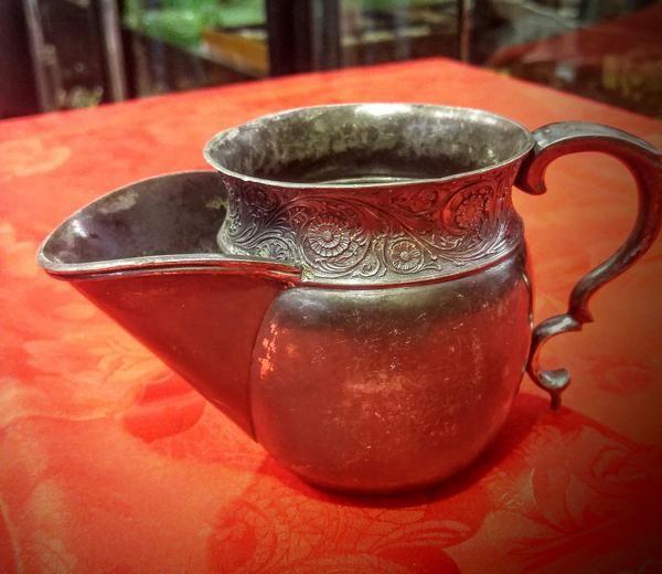 GA1133   -   Shaving mug Britannica Metal c1840