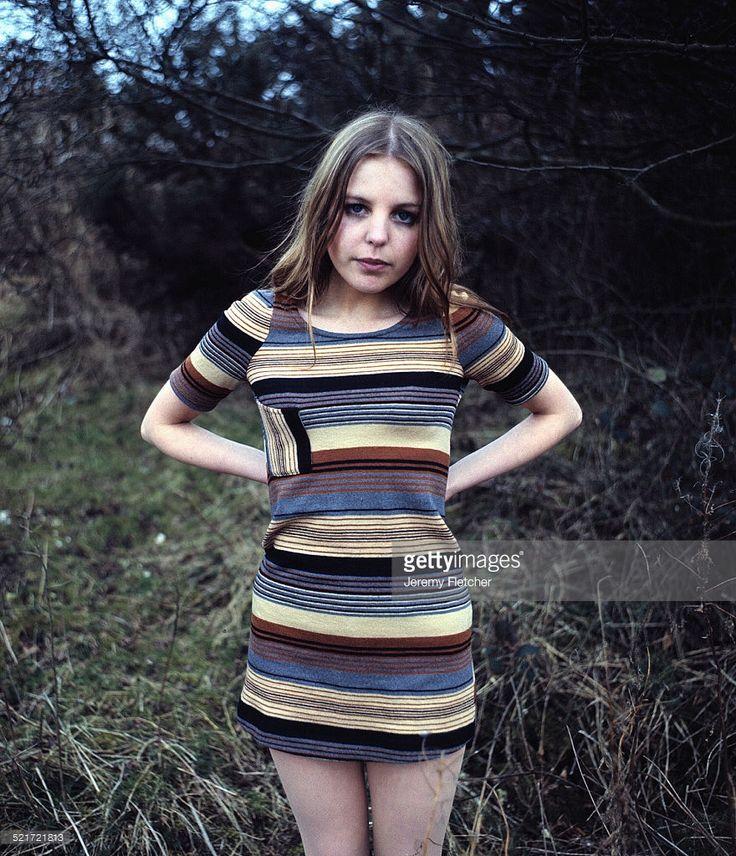 English actress Sally Thomsett, Brighton, 1978.