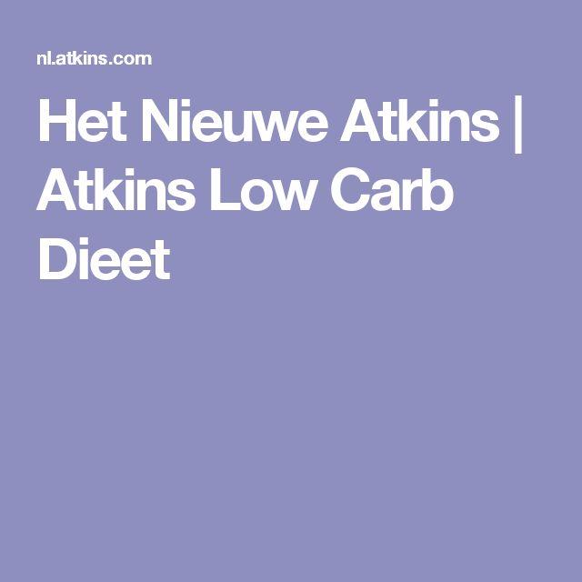 Het Nieuwe Atkins | Atkins Low Carb Dieet