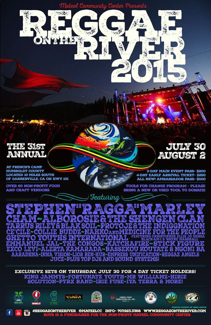 Reggae On The River 2015