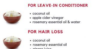 Kokosöl ist das beste Öl für schönes, kräftiges und längeres Haar. Probieren Sie die … – face&body