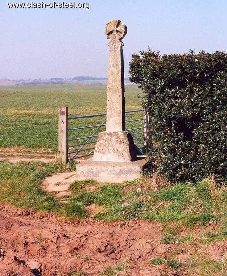 Monument to War of Roses at Towton, N.Yorks. Richard lll,