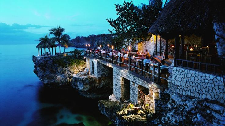 Escape the cold weather in the Rockhouse Hotel, Negril, Jamaica