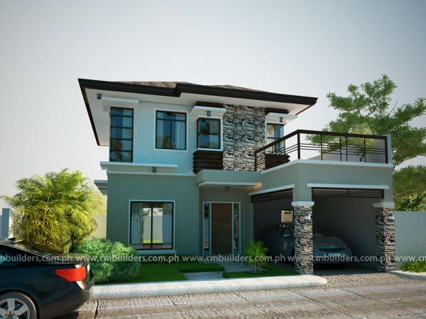 Modern zen house design with floor plan philippines meze for House designs zen